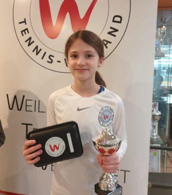 Neele Brinkmann wird 3. bei den U11 Westfalenmeisterschaften. Herzlichen Glückwu...