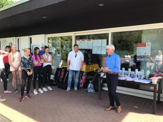Siegerehrung bei den 61. Westfälischen Jugendmeisterschaften