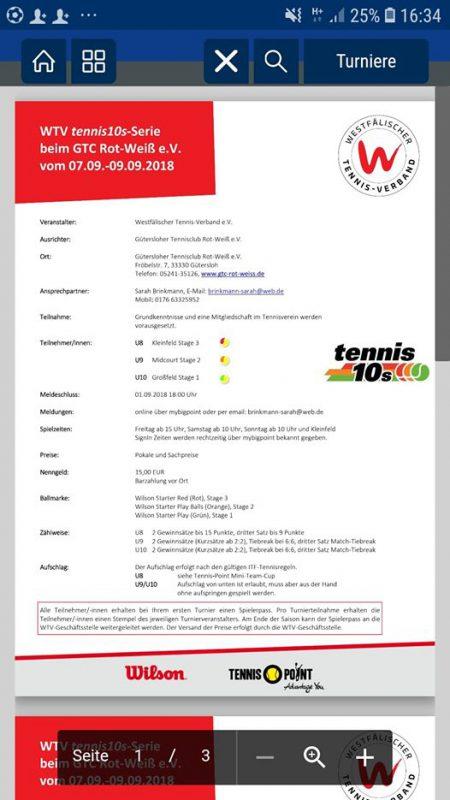 U10, U9 und U8 Turnier in Deinem Verein. Bitte meldet Euch an unter www.mybigpoi...