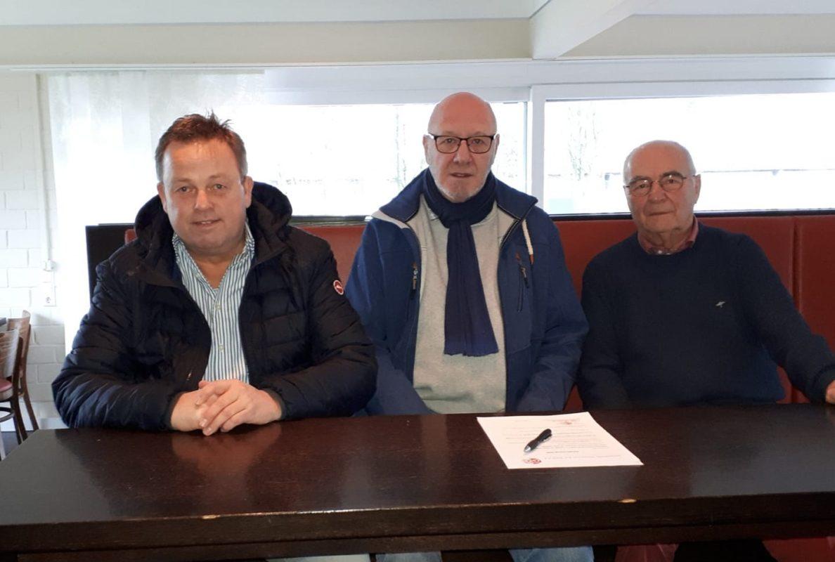 Willkommen im Team. Hermann Wöstemeier (Leiter Technik) und Jochen Brinkmann (Pr...