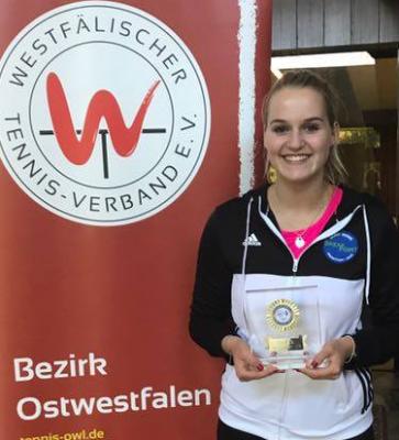 Unsere Mia Höddinghaus ist Hallen-U16-Bezirksmeisterin geworden! Herzlichen Glüc...